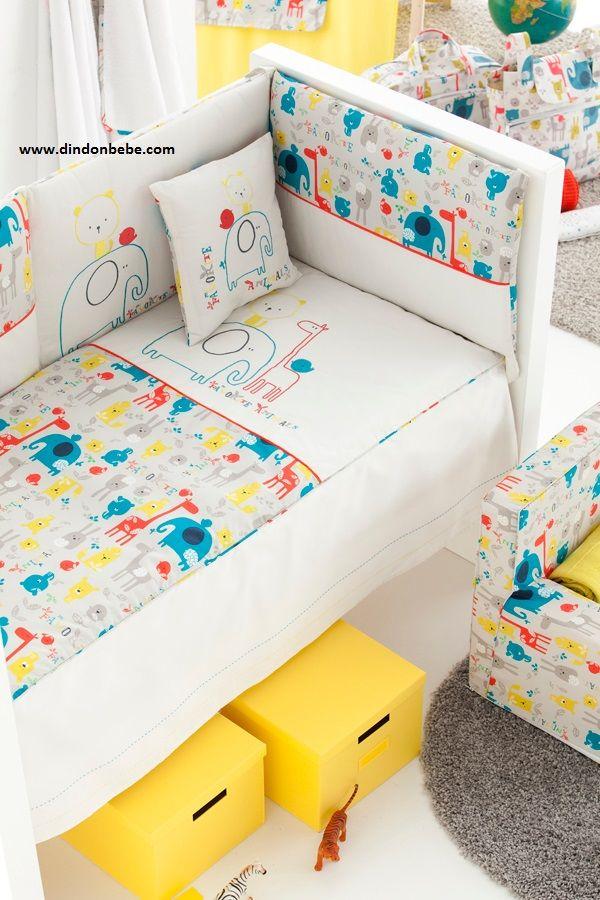 colección textil habitación infantil , www.dindonbebe.com
