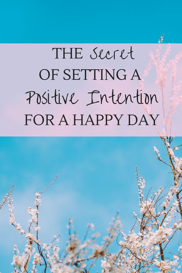 positive intention