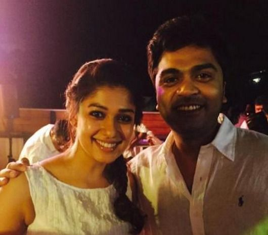Nayanthara was there to wish Simbu