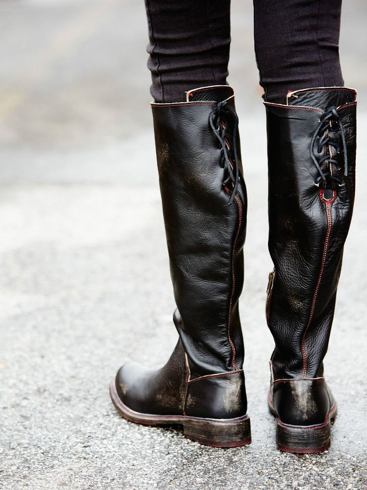 Details about Bed Stu Free People Manchester II Tall Boots