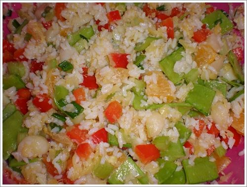 Tropical Rice Salad | Recipes To Try | Pinterest