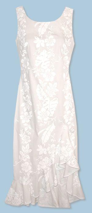 Hawaiian Beach Wedding Dress,, want!!! but with sleeves (: