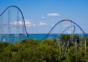 Ceder Point - Maybe I will get there before I am too old to ride coasters! Nah, I'll be ridin' them when i am 80 years old!