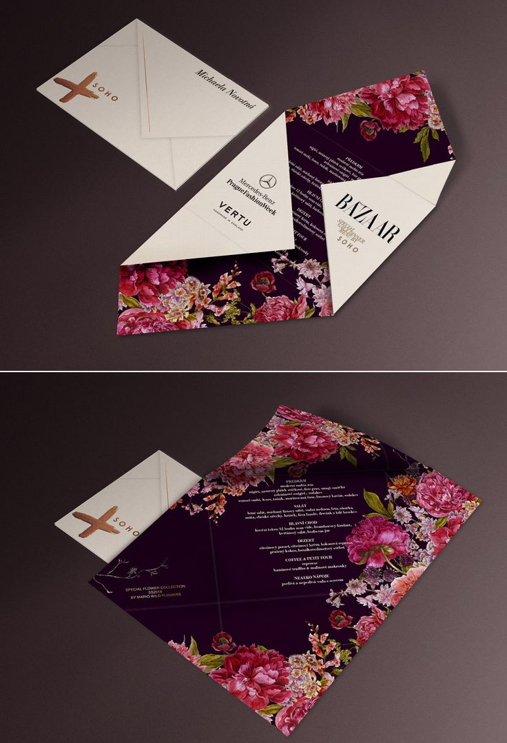 unique wedding invitation ideas from your favorite fashion brands