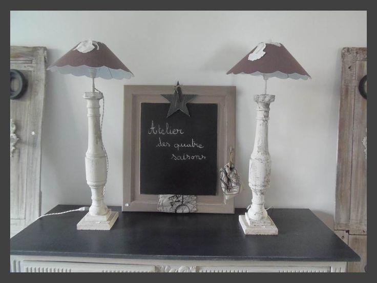 31 best images about luminaires lampes lapadaires appliques vintage indus mai - Miroir maison de famille ...