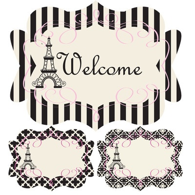 welcome signs/ table place cards