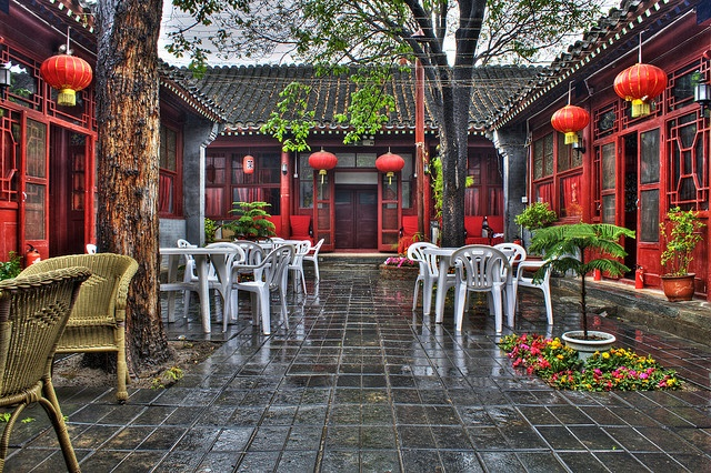 I stayed here in Beijing 2008