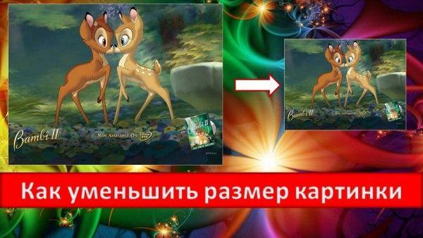 Как уменьшить размер картинки при помощи Paint.NET