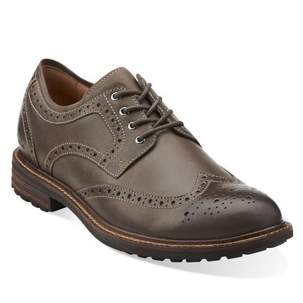 Clarks Mens Lace Up Shoes Triple E