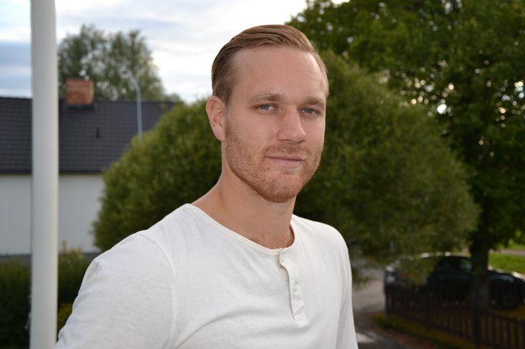 Jens Bergenström - hockeyspelare i Leksand. Hör intervju på www.dalfolk.nu