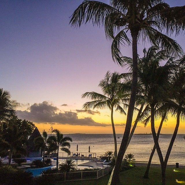 Sunset @ Chateau Royal, Noumea, New Caledonia