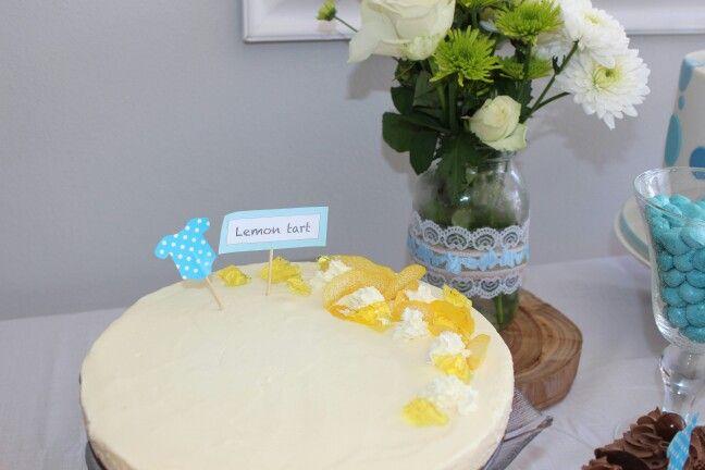Lemon fridge tart