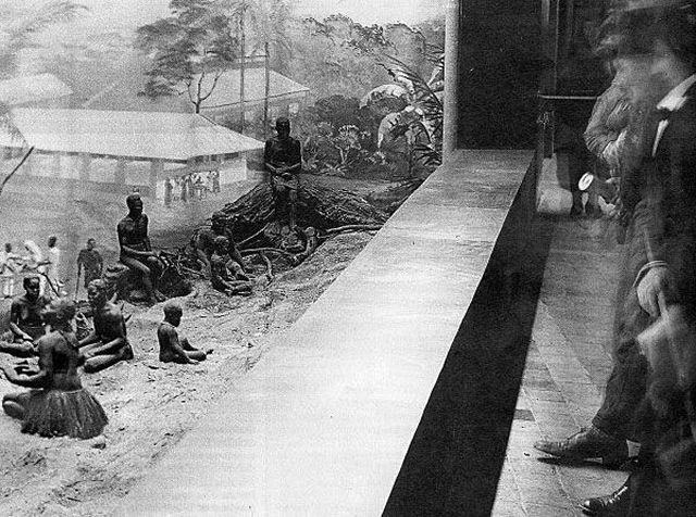 iG Colunistas – O Buteco da Net - » Fotos antigas mostram negros vivendo em zoológicos humanos