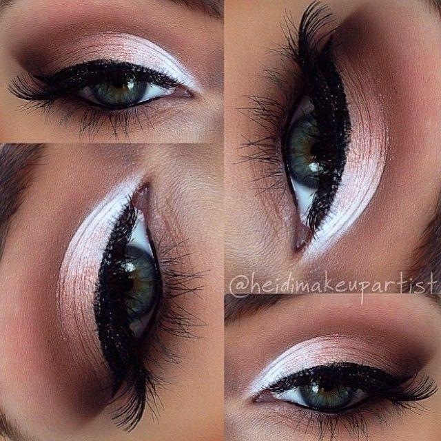 Love this pink eye shadow! www.scottlemastersalonandspa.com