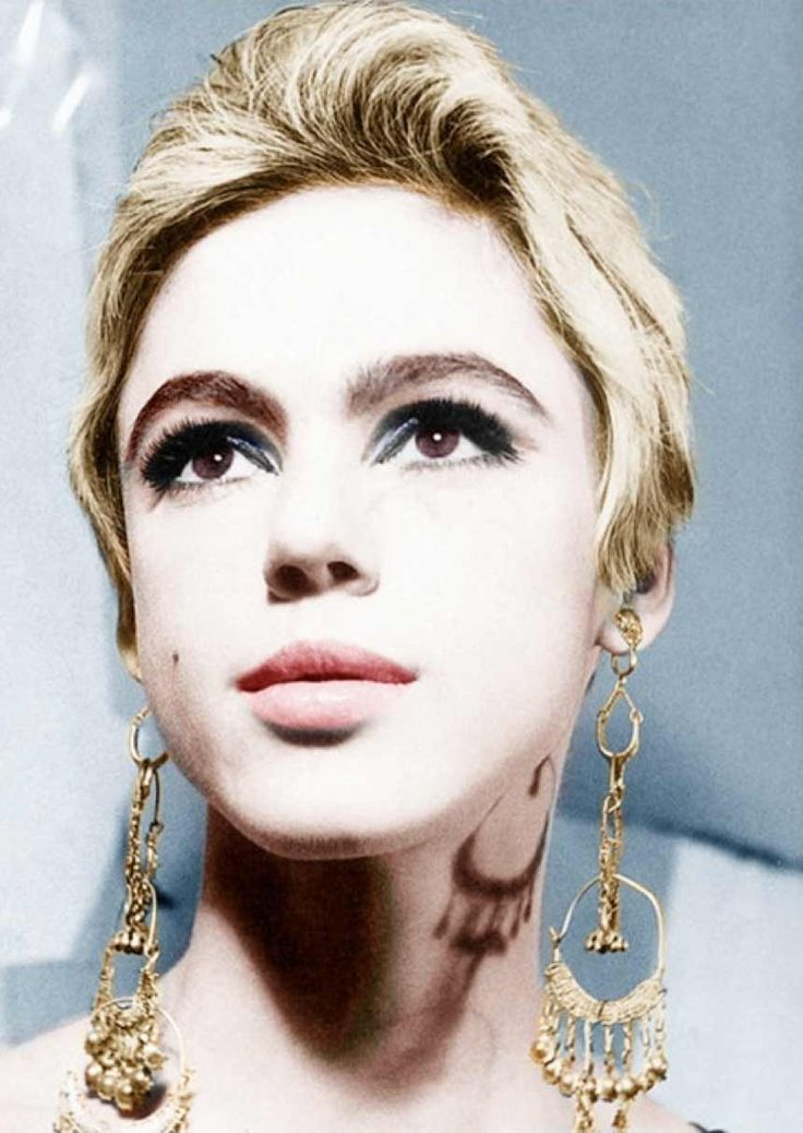 Model actress and Warhol muse Edie Sedgwick (4/20/43- 11/16/71)
