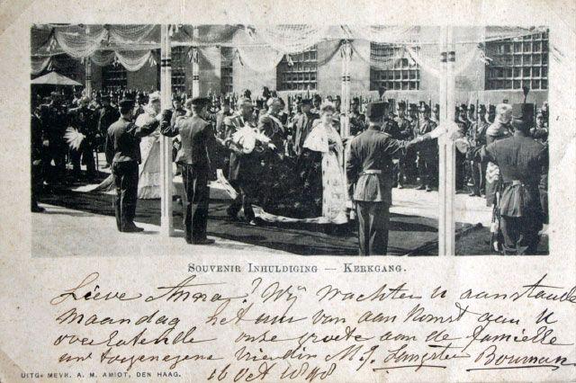 1898 De Gang naar de Kerk.