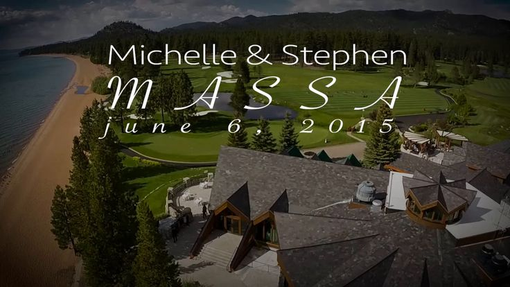 Edgewood Lake Tahoe. Stephen and Michelle Massa's Wedding.   Aerial Cinematography, Drones, Gh4, DJI Ronin, Ronin, Lake, Tahoe, Golf course wedding, Golf course, water, beach
