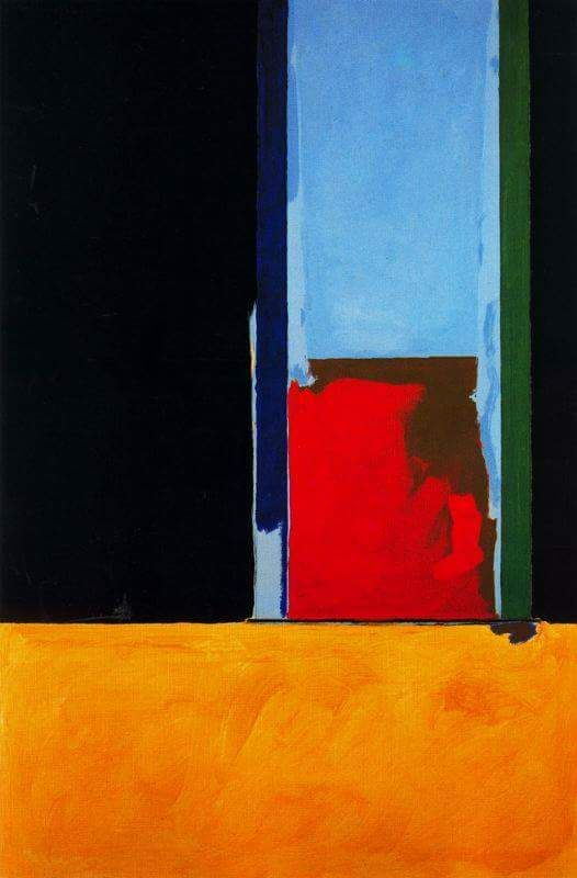 The Antelucan Hourglass - baylajo:   Robert Motherwell                                                                                                                                                     More