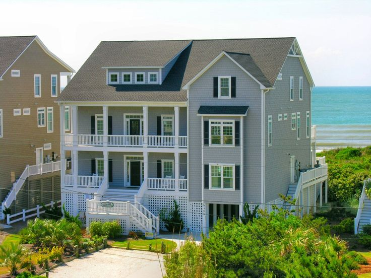 Beach House Rentals Atlantic Beach Nc Part - 41: Summerhill Cottage Is A 8 Bedroom, 7 Bathroom Oceanfront Vacation Rental In  Emerald Isle, NC.