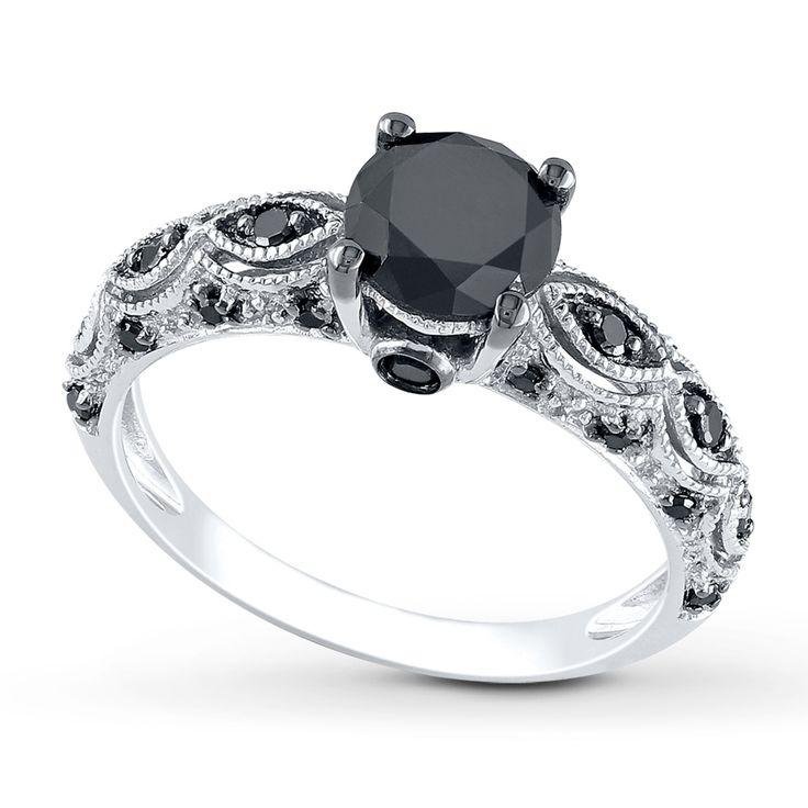 Jared Black Diamond Ring