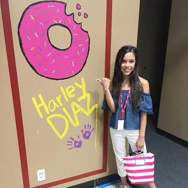 Harley loves her donuts