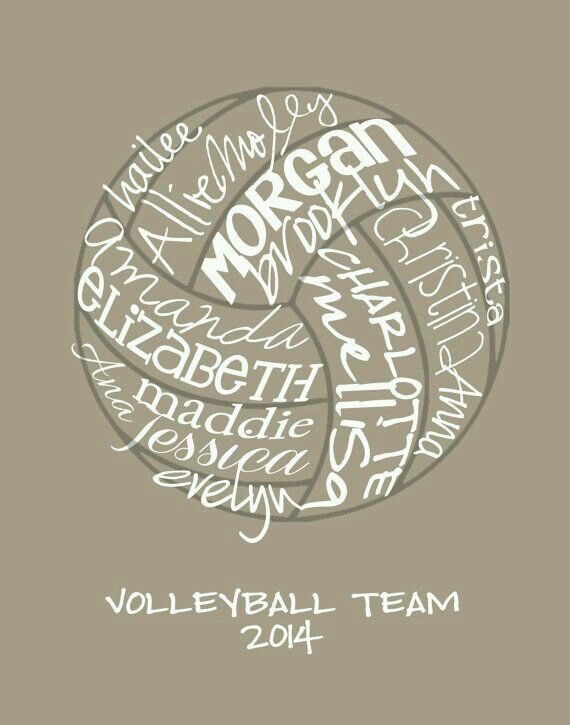 I am going to do this at the end of my volleyball season! It will be so fun