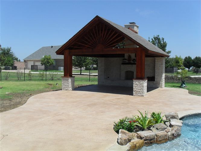 22 best patio roof or no roof that is the images on for Detached covered patio plans