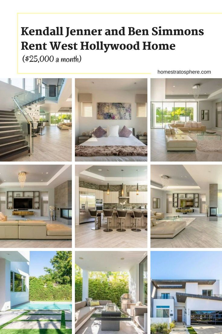 Discover Kendall Jenner And Ben Simmons Rent West Hollywood Home 25 000 A Month Kendalljenner Hollywood Homes Celebrity Houses Luxury Homes Dream Houses