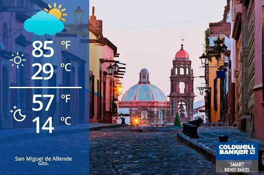 San Miguel de Allende Weather! Partially ‪#‎Cloudy‬, keep in mind there has been some ‪#‎rain‬. ‪#‎weather‬ ‪#‎sma‬ ‪#‎mexico‬ ‪#‎gto‬