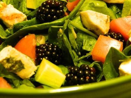 The BlackBerry salad