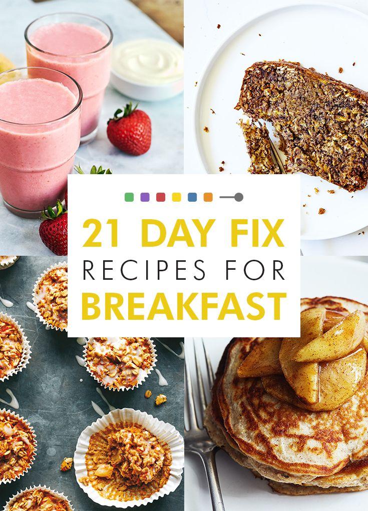 21 Day Fix Breakfast Recipes The Beachbody Blog 21 Day Fix Breakfast 21 Day Fix Snacks 21 Day Fix Vegetarian