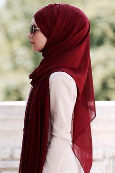 Beautiful Sophisticated Hijab Style