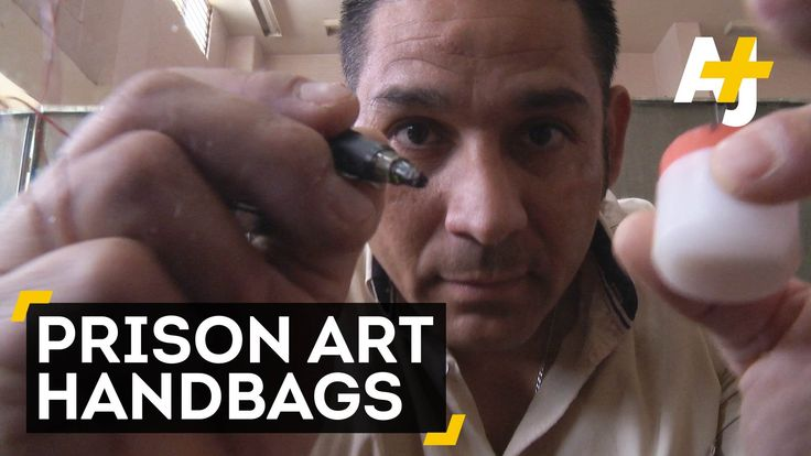 Ritzy handbags made by prisoners. Wait, what?! Prison Art Mexico is turning tattoo artists into handbag designers. Subscribe for more videos: http://www.yout...