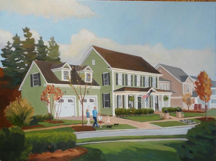 Neighbor's house, Fort Mill SC