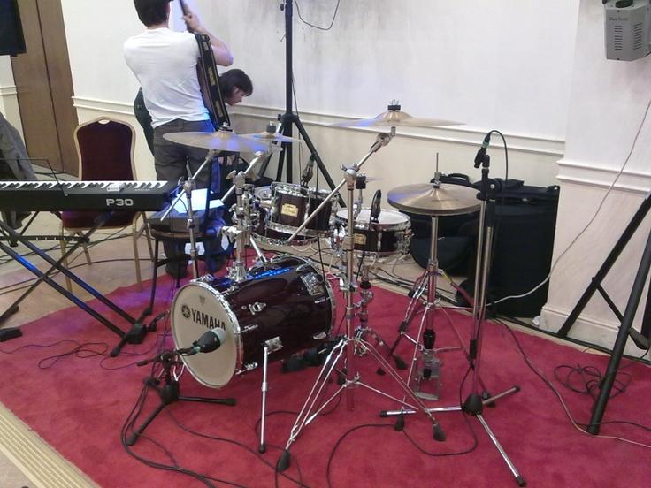 Mitt minste trommesett, Yamaha Hip Gig...(legger ut det store når jeg har et godt bilde av det...)