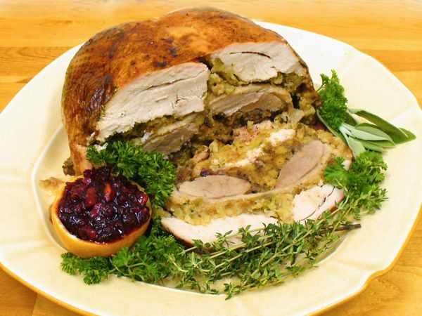 turducken recipe, how to make, turkey, duck, chicken, poultry, receipts