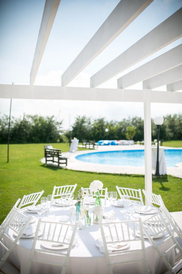My outdoor summer wedding.