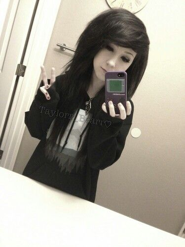 My hair is black all I need is to poof it c: