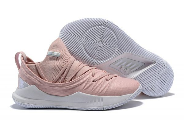 "3df5ce4b83d2 Latest Under Armour Curry 5 ""Flushed Pink"" Sneakers in 2019"