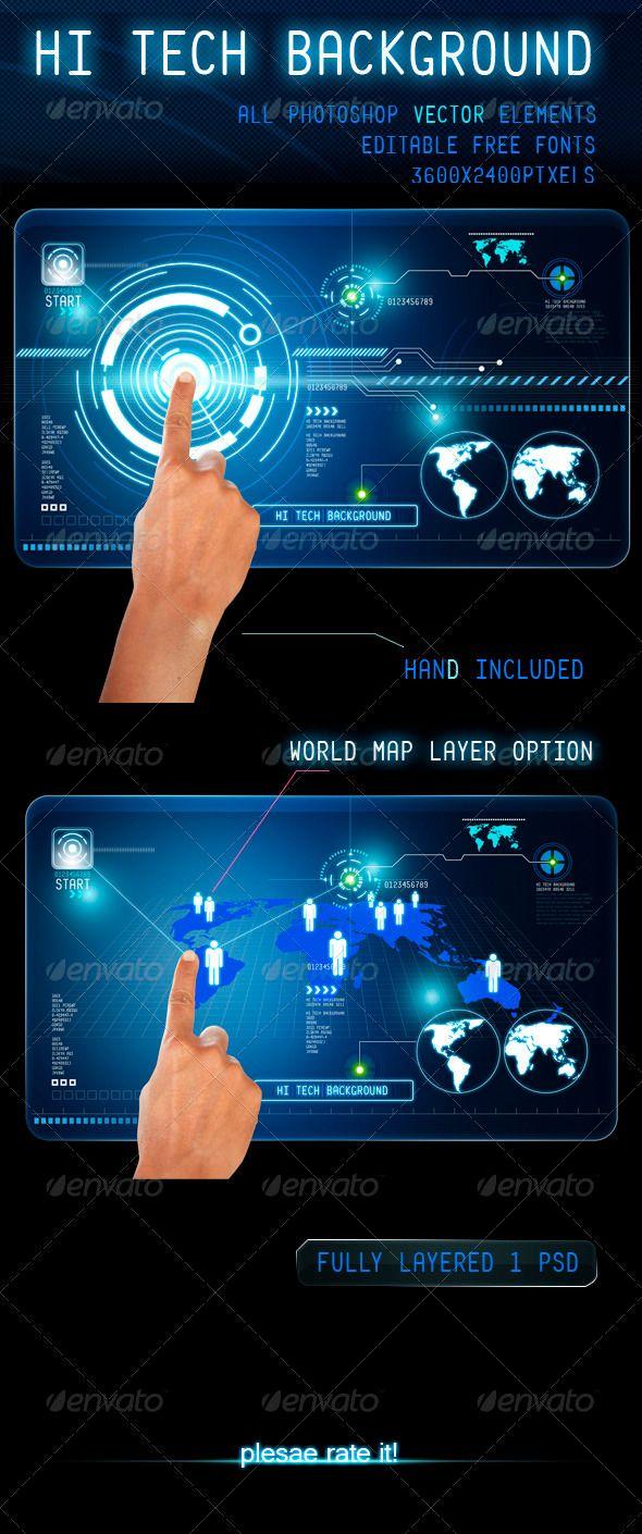Hi Tech Background