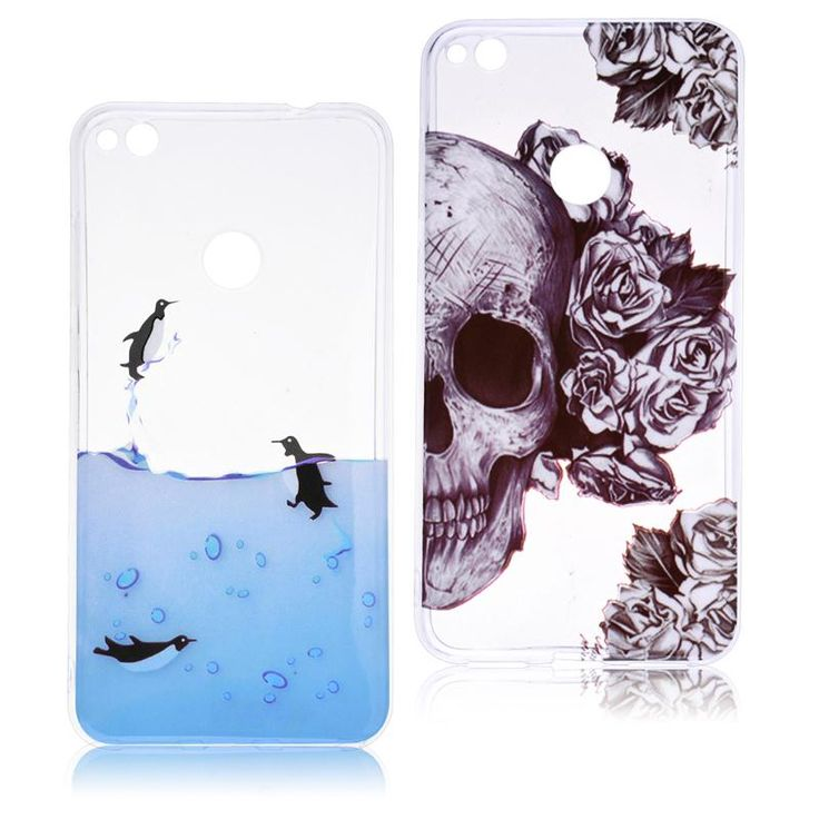 Coque For Huawei P8 Lite 2017 P10 P10 Lite Case Horror Skull Soft Clear Back Cover For Motorola Moto G5 Soft silicone Phone Case #Affiliate