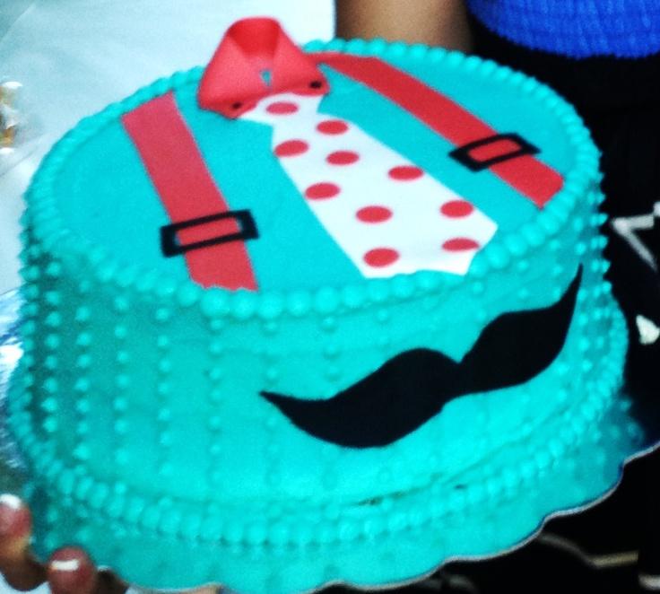 Baby Shower, Blue, Lilu0027 Man, Mustache, Decorations, Ideas, ...