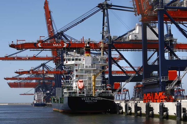 Rotterdam. Harbour. Industrial