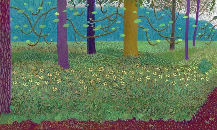 David Hockney. pretty