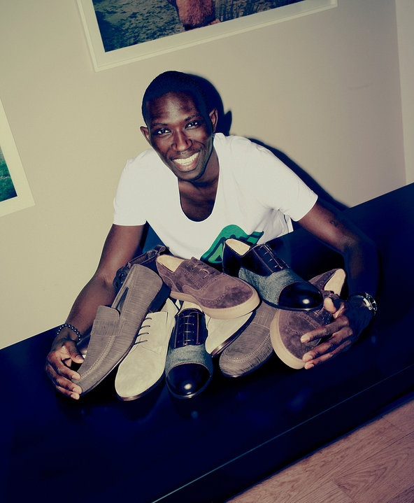 My favorite JCrew model Armando Cabral is now a shoe designer!
