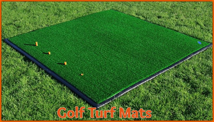 If you want to do golf practice on green grass, you might consider to investing in an indoor golf turf mat. These mats use high-quality synthetic turf rubber for a few years and are easy to maintain. It can be useful if you want to improve your golf game skills.