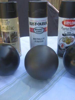 "Going to use one of these spray paints to turn my ""chrome"" fixtures/shower stall trim into oil-rubbed bronze ;)    ORB Spray Paint ""Taste Test"" ~ Our Suburban Cottage"