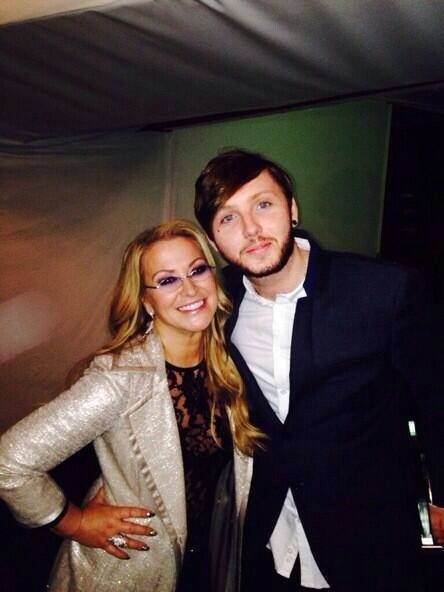 "TWITTER AnastaciaFanily: And a retweet ""#LOVEFEST RT James Arthur Me and…"