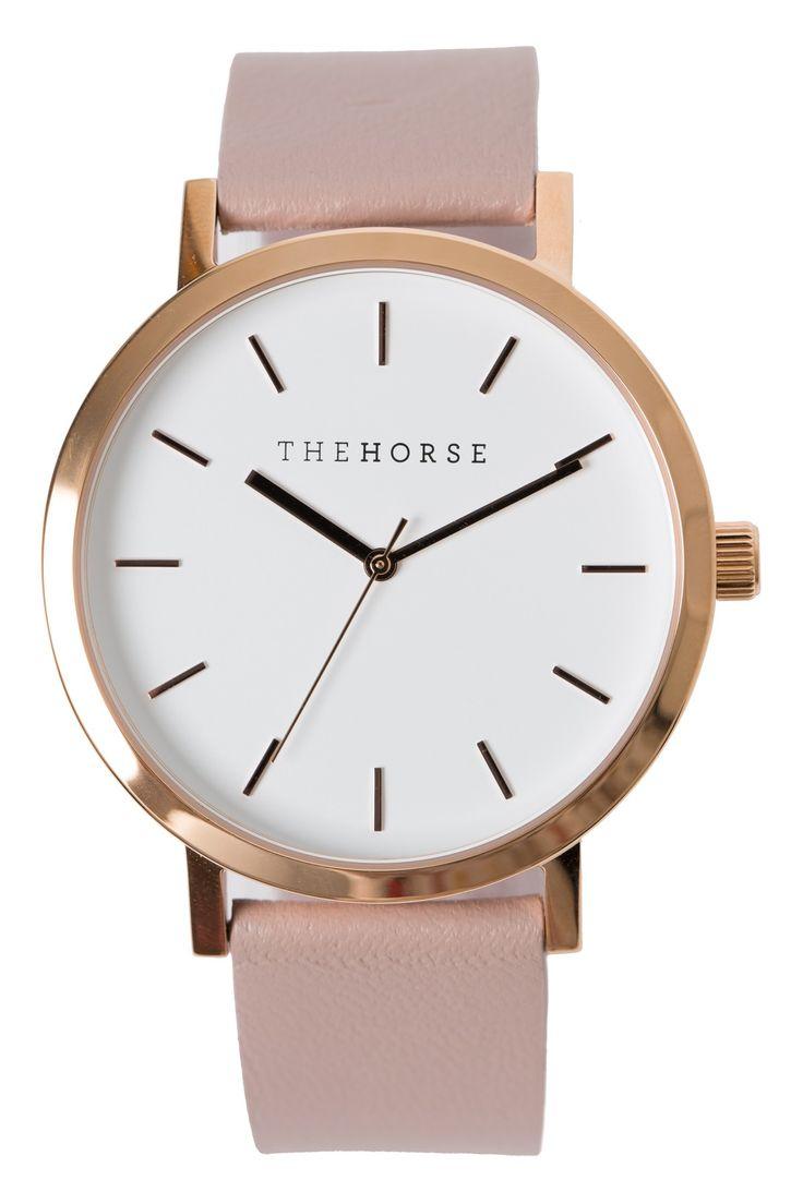 THE HORSE Original Watch Rose/Blush
