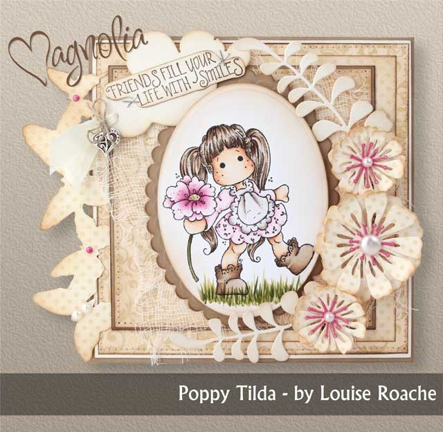 Magnolia - one of the new Tilda stamps from Magnolia
